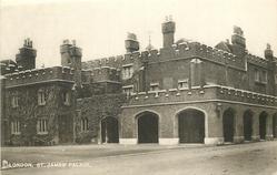 ST. JAMES' PALACE