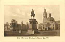 CITY HALL AND TREDEGAR STATUE