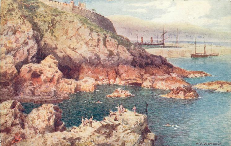 THE BATHING PLACE, DOUGLAS ISLE OF MAN