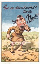 scots soldier - NOT THE NOO!!!
