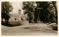 HIGHCLIFFE PARISH CHURCH OF ST. MARK AND ILEX AVENUE