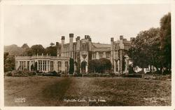HIGHCLIFFE CASTLE, SOUTH FRONT