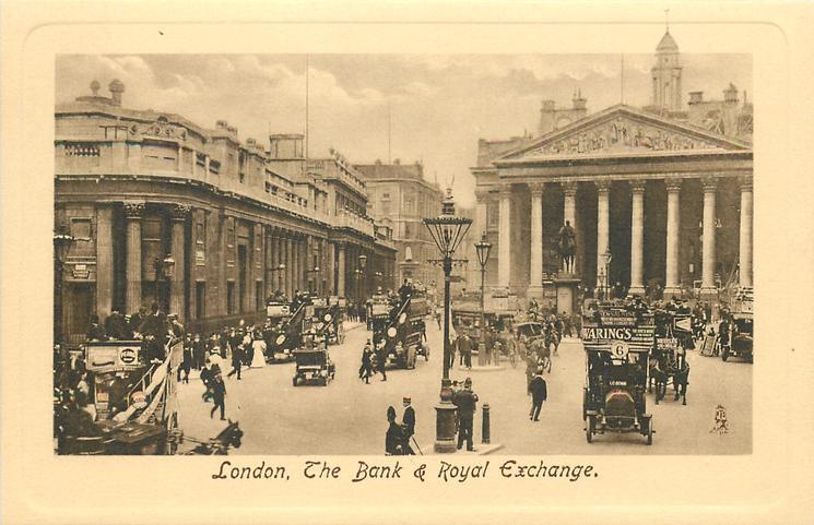 THE BANK AND ROYAL EXCHANGE