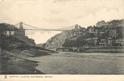 CLIFTON SUSPENSION BRIDGE  distant view