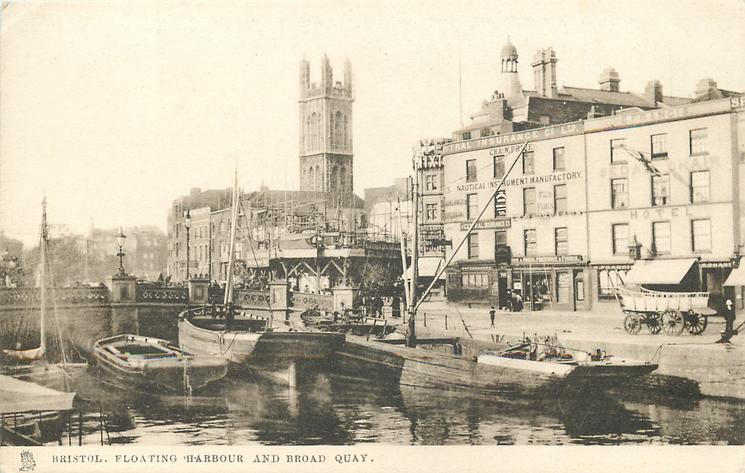 FLOATING HARBOUR AND BROAD QUAY