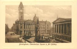 CHAMBERLAIN SQUARE AND ART GALLERY