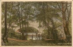 THE WATERFALL, CHEWTON GLEN