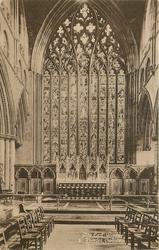 THE EAST WINDOW & REREDOS