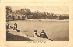 NAIRN FROM THE RIVER