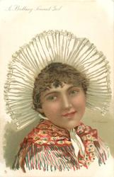 A BRITTANY PEASANT GIRL