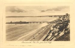 THE PIER FROM EAST CLIFF