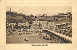 SHANKLIN FROM THE PIER
