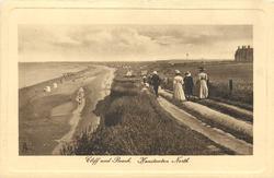 CLIFF AND BEACH, HUNSTANTON NORTH