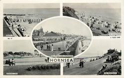 5 insets SOUTH BEACH/ THE BEACH/ SEA FRONT AND PROMENADE/ BOATING LAKE/ THE PROMENADE