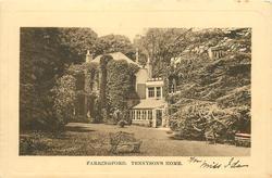 FARRINGFORD, TENNYSON'S HOME