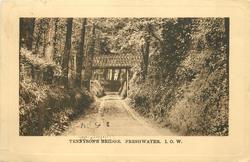 TENNYSON'S BRIDGE, FRESHWATER. I.O.W.