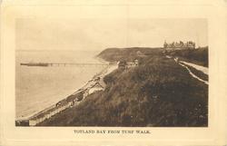 TOTLAND BAY FROM TURF WALK