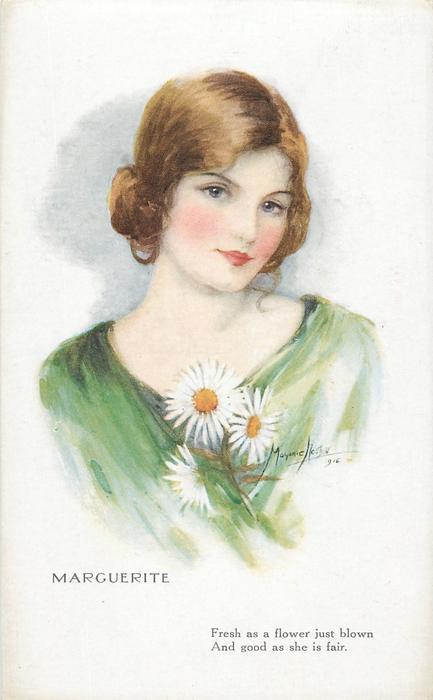 MARGUERITE - TuckDB Postcards