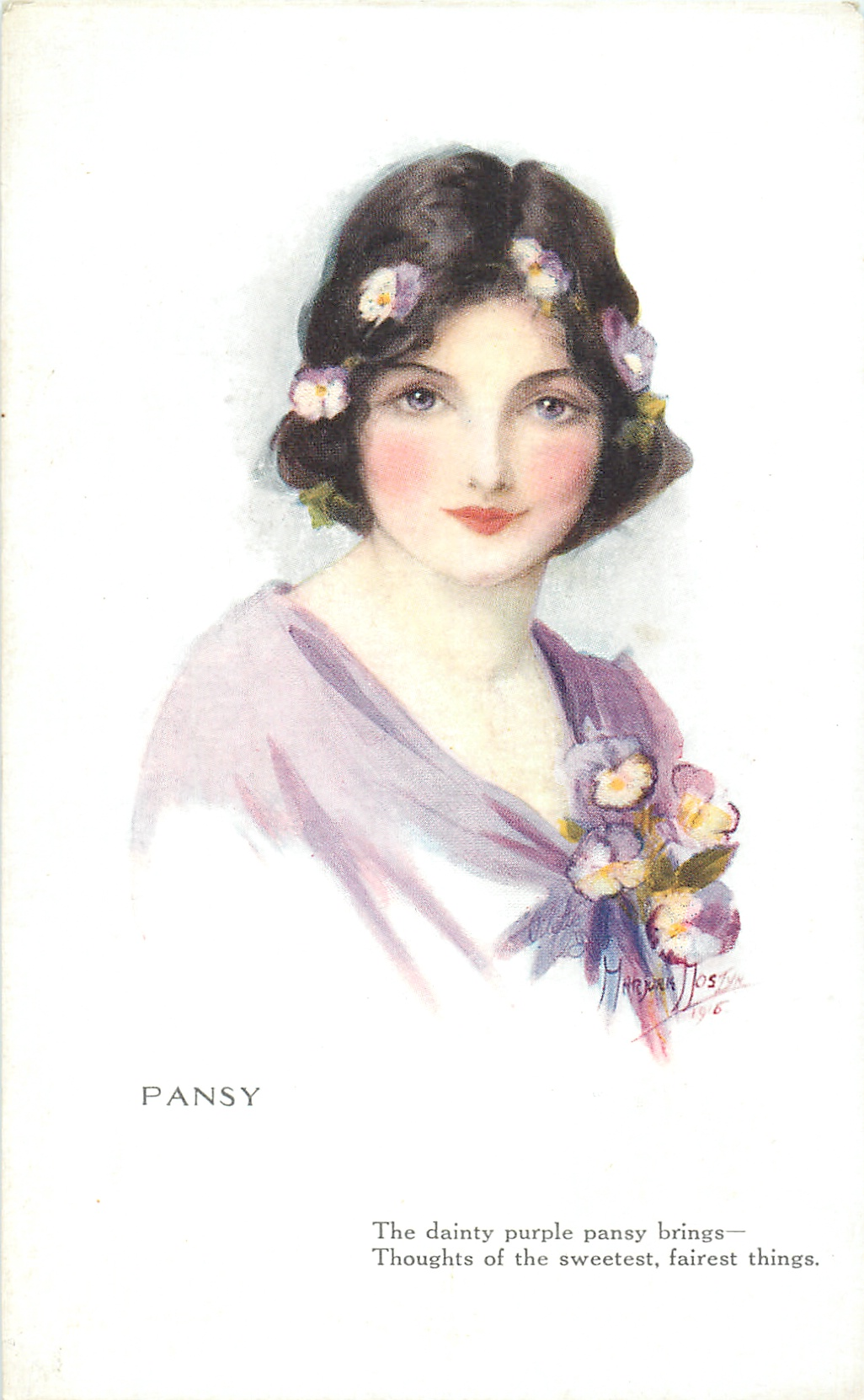 PANSY - TuckDB Postcards