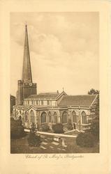 CHURCH OF ST. MARY'S