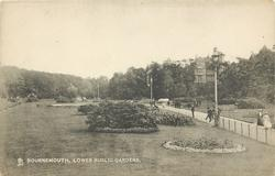 LOWER PUBLIC GARDENS, mainly grass & flower-beds