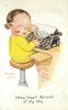 MANY HAPPY RETURNS OF THE DAY  typewriter