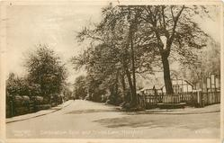 CORONATION SEAT AND SCHOOL LANE