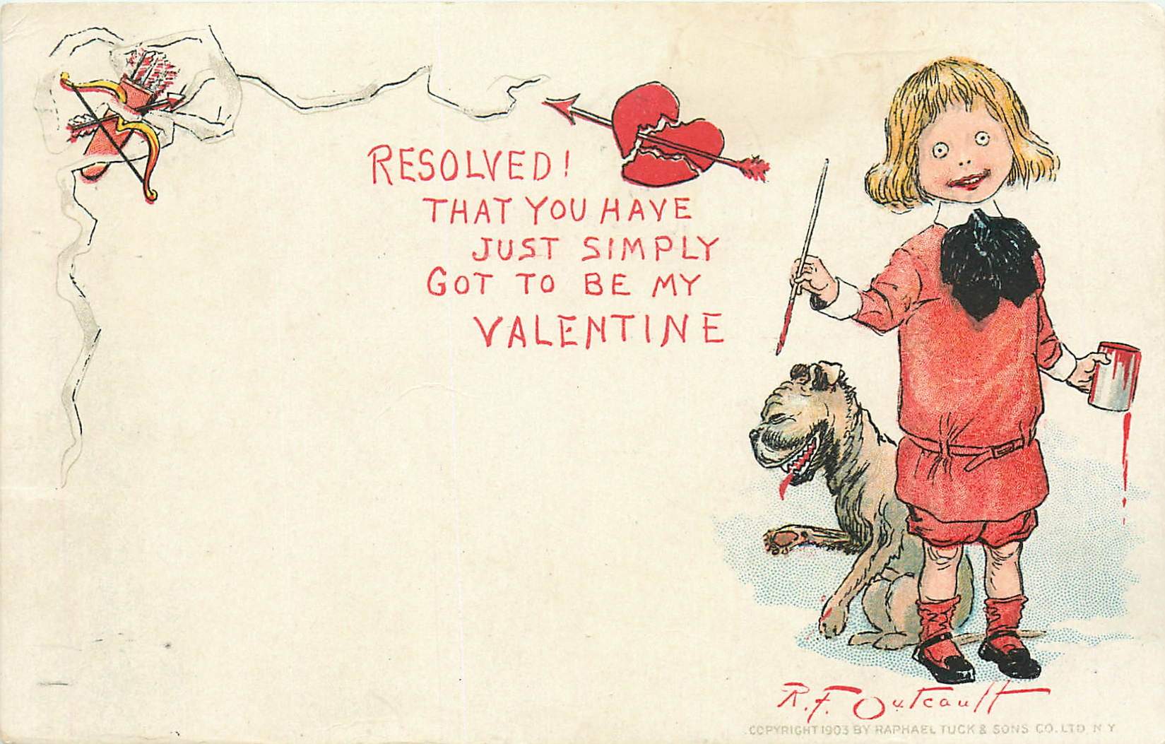 RESOLVED! THAT YOU HAVE JUST SIMPLY GOT TO BE MY VALENTINE ...