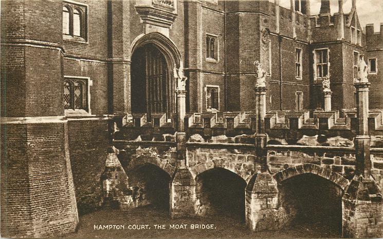 THE MOAT BRIDGE