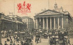 BANK OF ENGLAND, AND ROYAL EXCHANGE