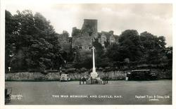 THE WAR MEMORIAL AND CASTLE