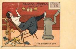 """THE BOHEMIAN GIRL""  fencing, golf, boxing equipment in evidence"