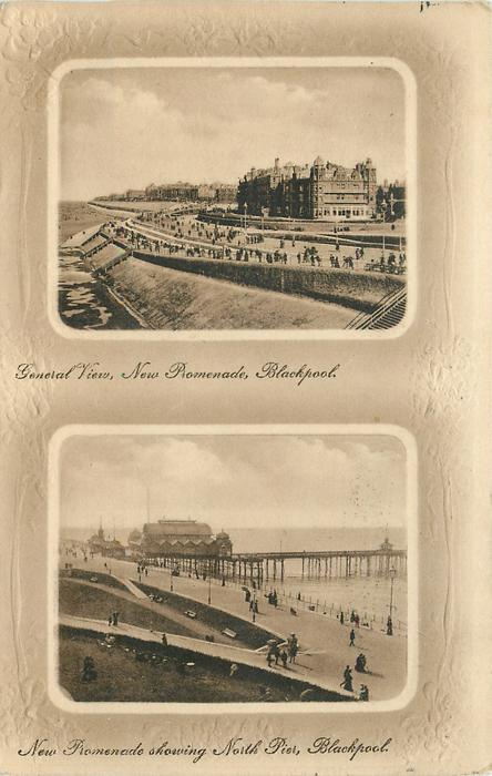 2 insets GENERAL VIEW // NEW PROMENADE SHOWING NORTH PIER