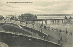 NEW PROMENADE SHOWING NORTH PIER