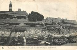BATHING PLACES AND MARINE BIOLOGICAL INSTITUTION