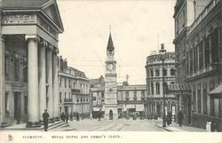ROYAL HOTEL AND DERRY'S CLOCK