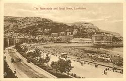 THE PROMENADE AND GREAT ORME