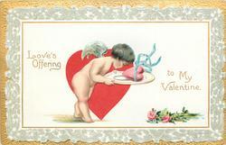 LOVE'S OFFERING TO MY VALENTINE