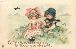 A LITTLE WAYSIDE MELODY TO TOUCH YOUR HEART, MY VALENTINE