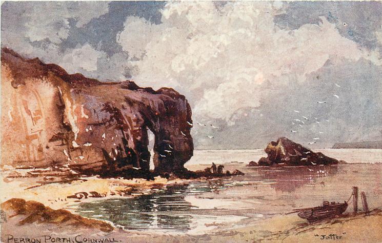 PERRON PORTH (now Perronporth)