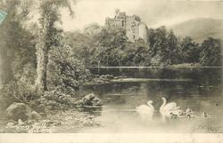 GLENGARRY CASTLE, LOCH OICH