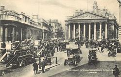 THE BANK OF ENGLAND & ROYAL EXCHANGE
