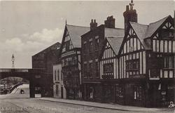 A BIT OF OLD CHESTER: COTTAGES IN WATERGATE STREET