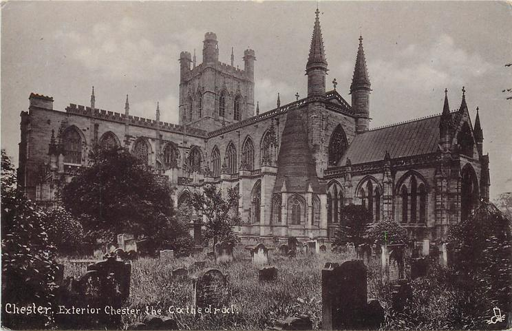 EXTERIOR CHESTER THE CATHEDRAL