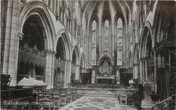 THE CHOIR, ST. MARY'S CATHEDRAL