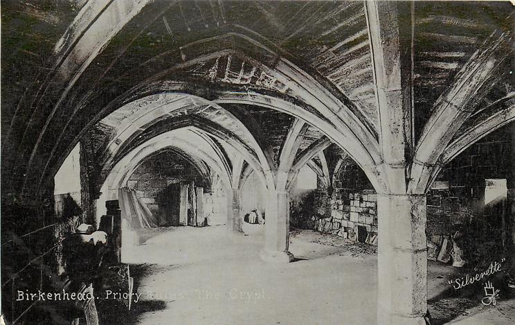 BIRKENHEAD PRIORY RUINS, THE CRYPT