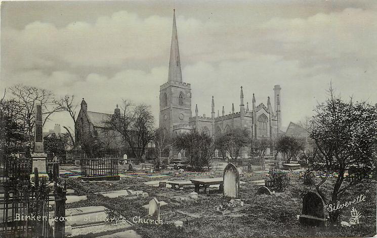 BIRKENHEAD ST. MARY'S CHURCH