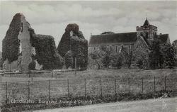 BOXGROVE RUINS AND CHURCH