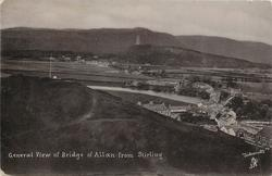 GENERAL VIEW OF BRIDGE OF ALLAN FROM STIRLING