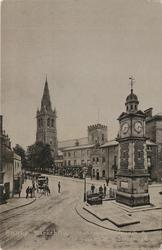 MARKET PLACE ST. ANDREW'S CHURCH AND CLOCK TOWER